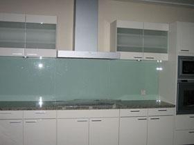 Tempered Glass Backsplash. Great Green Tile Backsplash Kitchen ...
